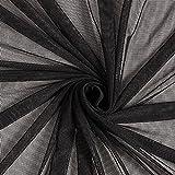 Powermesh Bi elastisch grobmaschig – schwarz —