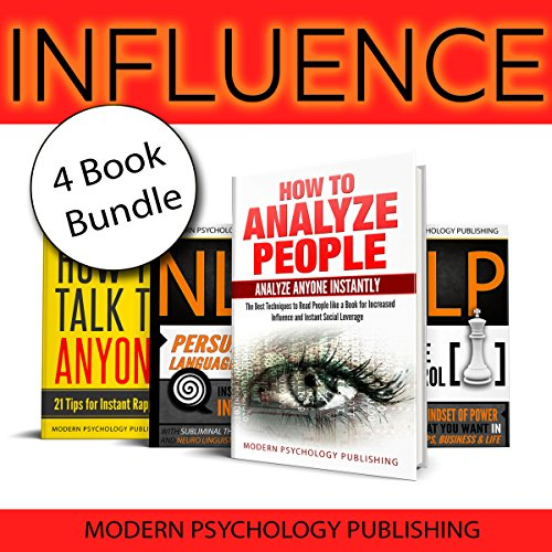 Influence: 4 Book Bundle audiobook cover art