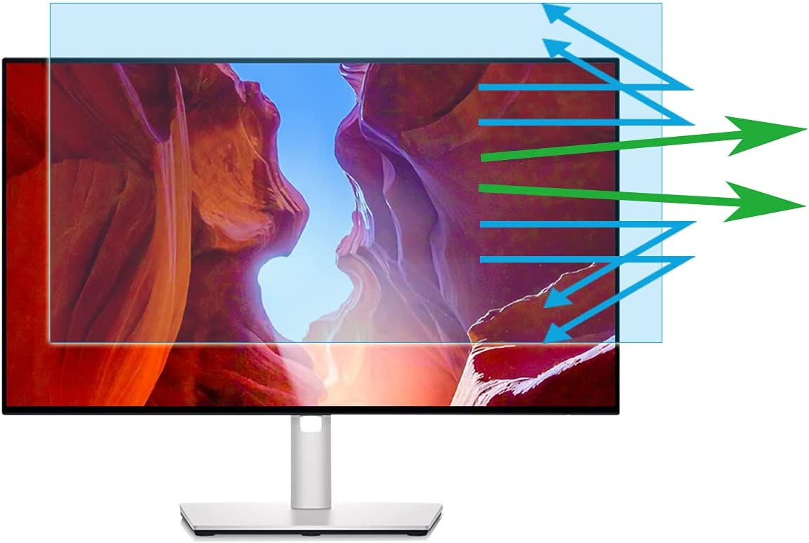 24InchMonitorEyeProtectionScreenProtectorAntiBlueLightAntiGlarefor24Inch16:9Dell,HP,Acer,ViewSonic,ASUS,Aoc,Samsung,Sceptre,LGWidescreenMonitor(20.9