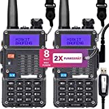2X Mirkit Funkgerät UV-5R MK5 8W und Programmierkabel für Handfunkgerät - VHF/UHF Walkie Talkie...