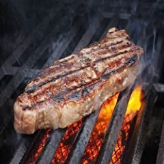 8 oz USDA Choice New York Strip Cut Steaks (Individually Sealed). Custom Packaging* - Dry Ice Cooler Shipped Right To Your Door. 100% Born and Raised in USA. No solutions or additives. Pure Beef. Hand Cut in Louisville, Kentucky Since 1946