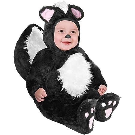 Skunk Fleece Toddler Romper Skunk Toddler Romper Skunk Halloween Romper Skunk Toddler Outfit