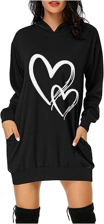FUNEY Bombing free shipping Women's Double Love Heart Sweatshirts Fashi Hooded Topics on TV Printed