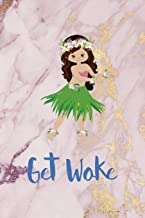 Get Woke: Woke Journal Composition Blank Lined Diary Notepad 120 Pages Paperback