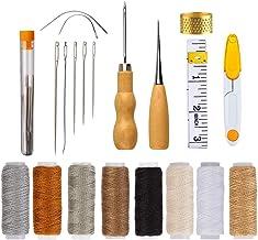 DIY Handicraft Tool Kit,BETOY naaien benodigdheden Gereedschap DIY naaien Accessoires Lederen naaien Waxed draad Koord met...