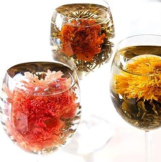 工芸茶 セット 10種類 詰め合わせ カーネーション茶 ジャスミン茶 花茶 中国茶 ジャスミンティー プチギフト (ビニールラッピング)