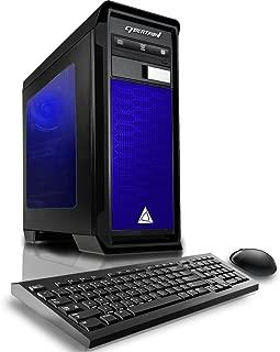CybertronPC TGMRHD950X816BU Rhodium 950 X8 Gaming Desktop - AMD FX-8300 3.30GHz Octa-Core Processor, 16GB DDR3 Memory, NVIDIA GeForce GTX 1050 (2GB GDDR5) Graphics, 1TB HDD, DVDRW, Win 10 Home,64-Bit