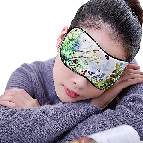 bao Core, color liso Silky Antifaz Antifaz Para Dormir antiestático Comfy Noche Máscara de Dormir Eyemask para hombre Mujer Ajustable y ligera Eye Shade Avión Vuelo accesorio de viaje