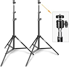 Emart 6.2ft VR Gaming Stand with Adjustable Vive Mini Ball Head for Video, HTC Vive VR, Portrait, Product Photography, etc. (2 Pack)