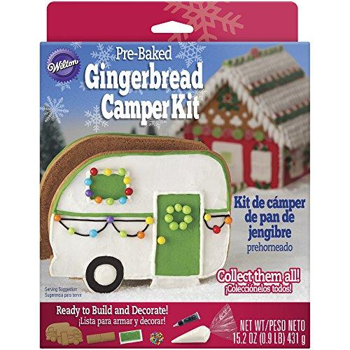 Gingerbread Camper Kit Christmas Kit Wilton
