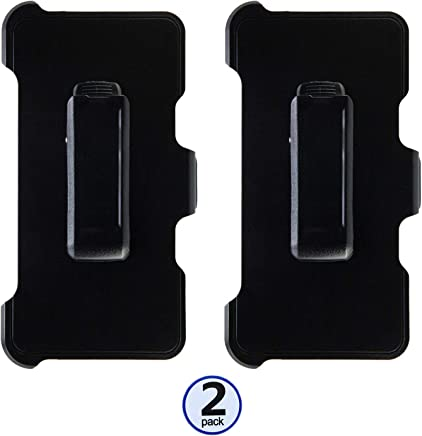 """WallSkiN Turtle Series""""Compatible with OtterBox Defender Series Case"""" Holster & Kickstand & Belt Clip for Apple iPhone 8 Plus/iPhone 7 Plus (5.5"""") (Replacement Only - Case not Included) (2 Pack)"""