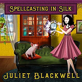 Spellcasting in Silk audiobook cover art