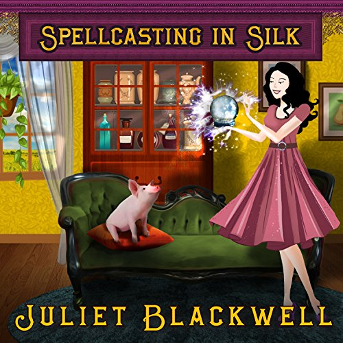 Spellcasting in Silk audiobook cover art