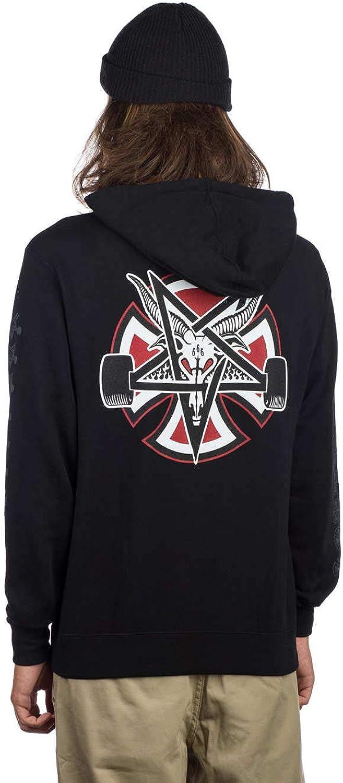 Independent X Thrasher Pentagram Cross Hood Black