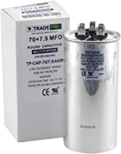 TradePro 70/7.5 MFD 370/440 Volt Round Dual Run Capacitor