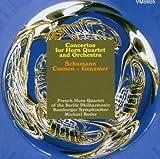 Konzerte für Hornquartett - Boder