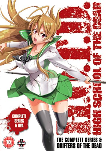 High School of the Dead: Drifters Of The Dead Edition (Series & OVA) [DVD] [Import anglais]