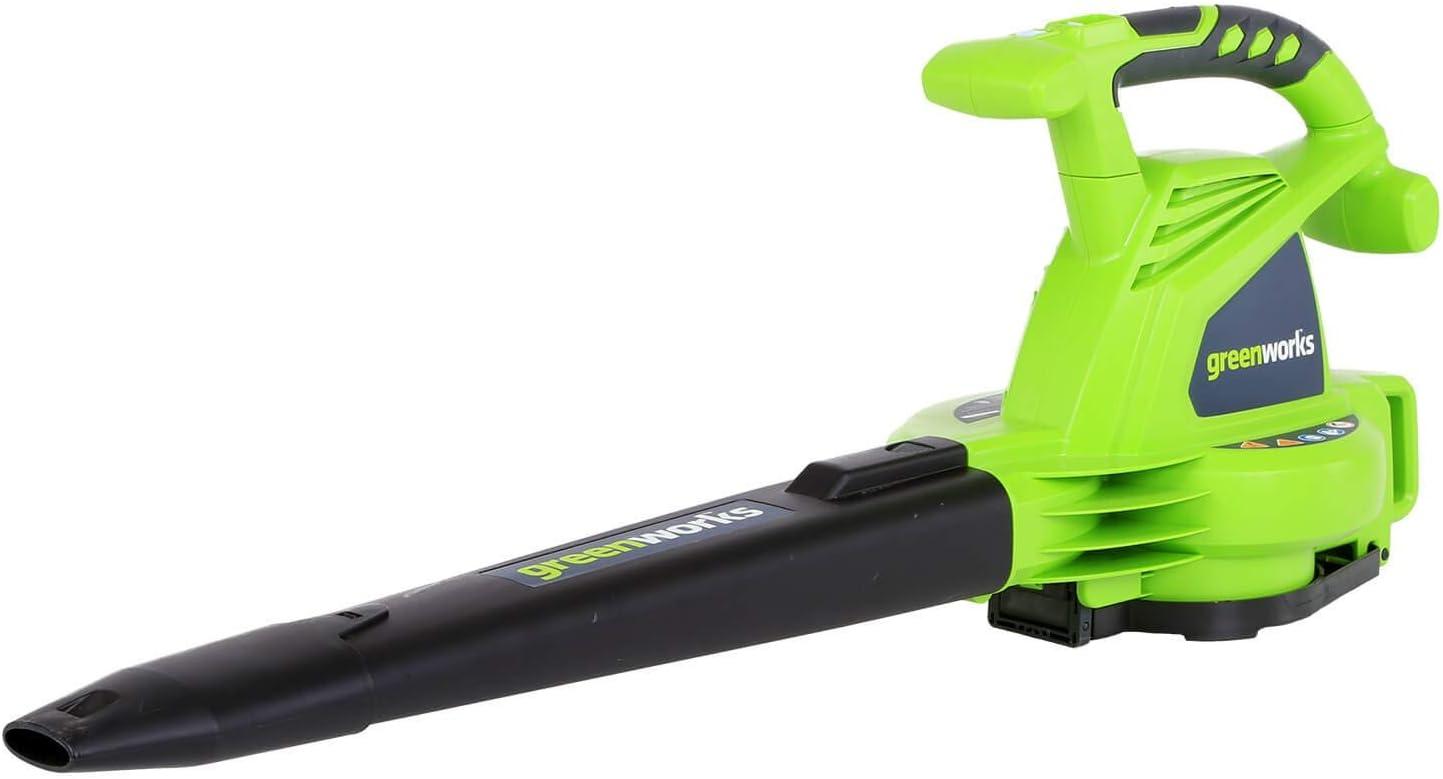 Greenworks 24072 12A 235MPH Variable Speed inc Corded [Alternative dealer] Blower Vac Japan Maker New