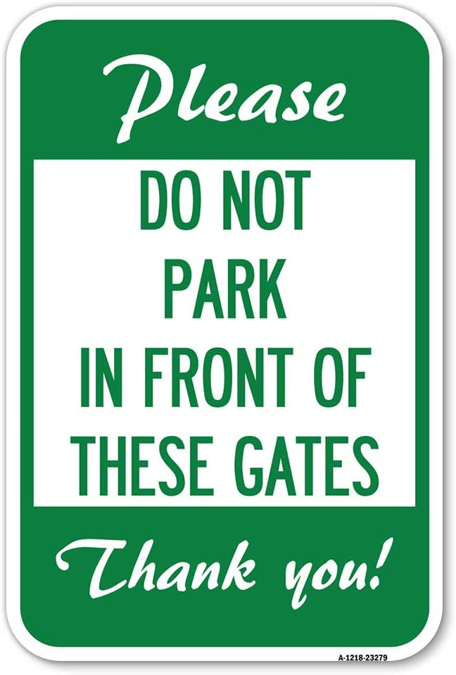 Please Do favorite Not Park in Front of These X Fresno Mall Gates Heavy-Ga 12