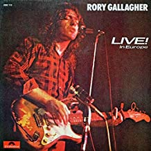 Rory Gallagher - Live! In Europe - Polydor - 2383 112