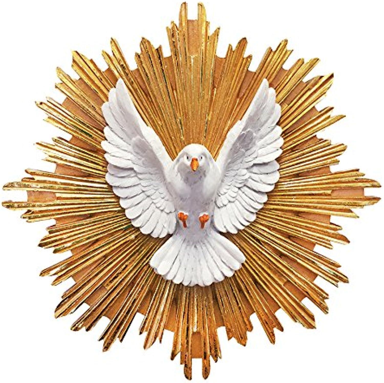 Divine Spirit Pendant Holy Spirit Sculpture Wall Mounted Divine Eagle(12 Inch)