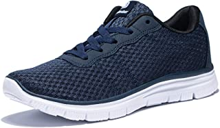 Mens Lightweight Walking Shoes Size 7-16 Running Shoe Removable Sockliner Arch Support Outdoor Athletic