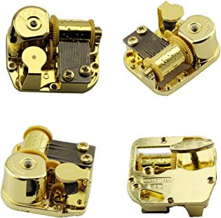 Huiliduo Gold Plating 18 Note Musical Movement-Different Tunes Available (Tune is Over The Rainbow)