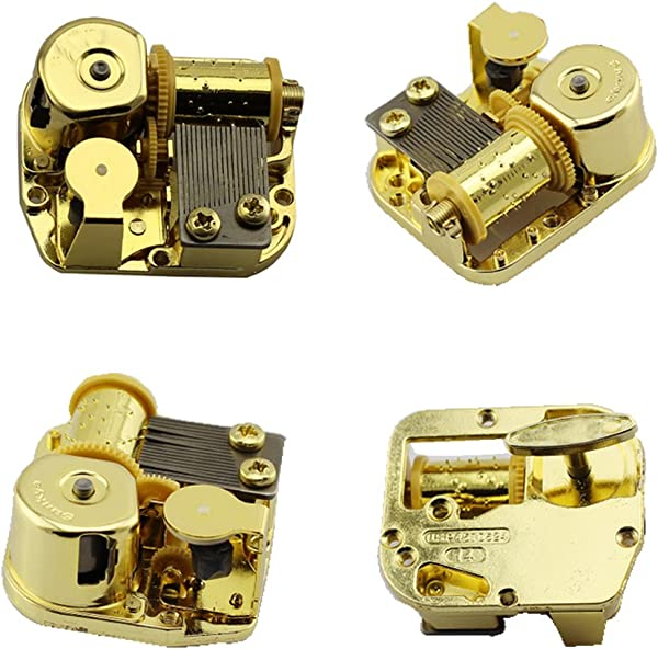 Huiliduo Gold Plating 18 Note Musical Movement Different Tunes Available Tune Is Love Story From Movie Love Story