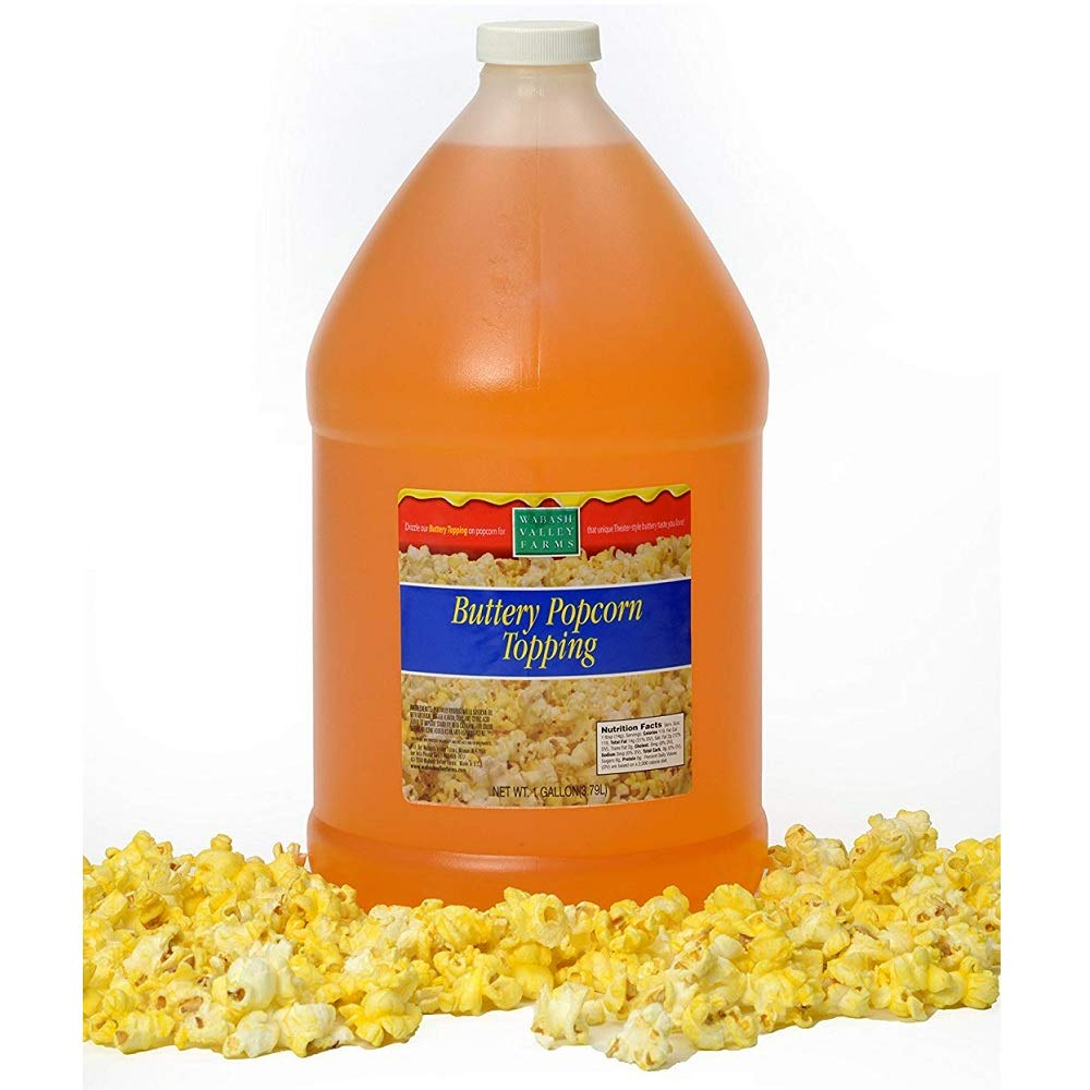 Wabash Valley Farms - Max 45% OFF Buttery Topping Fashion 1 Gallon Popcorn