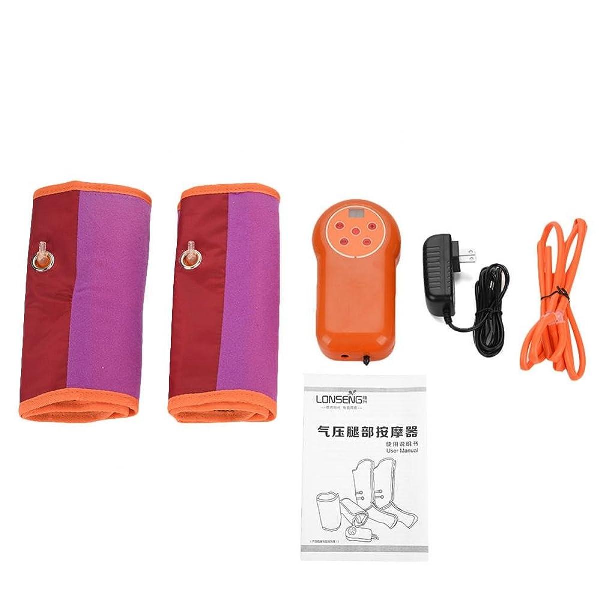 空気圧縮マッサージ、タイミング設定 9レベルモード 調節可能な腕マッサージャー 電気サイクル(1)