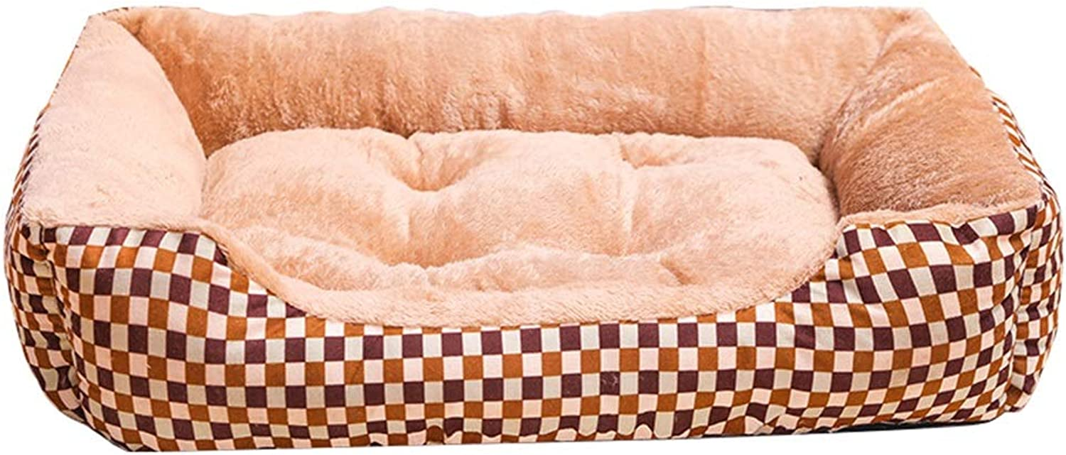 Kennel Summer Washable Pet Cat Litter Dog Pad Small and Medium Dog Pet Supplies Four Seasons Nest (color   1001L)