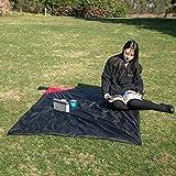 TENGCHUANGSM Durable impermeable Picnic Mat Pad Camping Mat Plegable Dormir Colchón Aluminio Foil Deportes al aire libre a prueba de humedad Mat