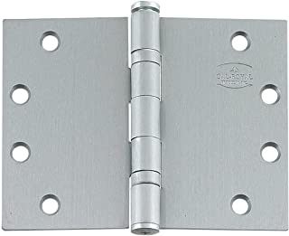 Wide Throw Hinge - Heavy Duty Stainless Steel, 4.5 Inch x 6 Inch, Ball Bearing, Highly Rust Resistant, Sold Individually