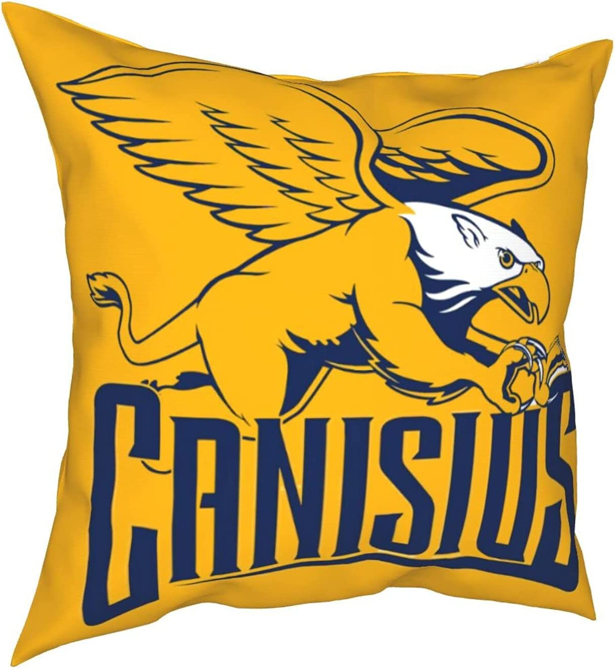 JEPLEEGO Canisius Tucson Mall College Golden Cove Pillow Throw Gri-Ffins [Alternative dealer]