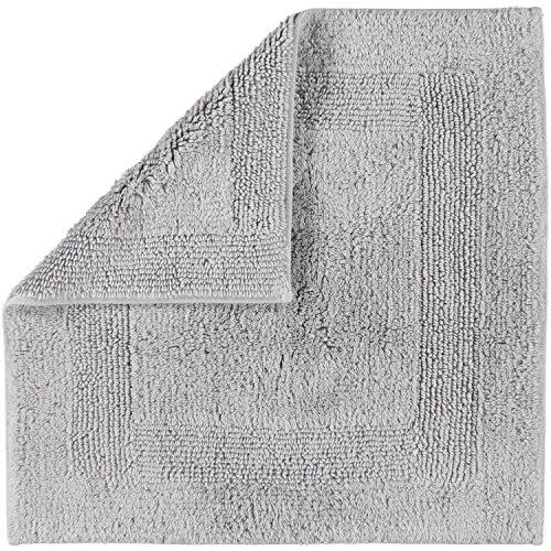 Cawö Home Badteppich Badteppich 1000 Platin - 705 60x60 cm