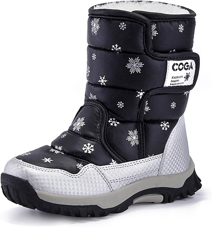 Girls Boys Ranking TOP10 Toddler Little Kid Big Snow Winter Warm Boots Now on sale Wat