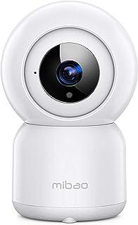 Cámara de Vigilancia WiFi, Mibao 1080P Cámara IP Inalámbrica, HD Visión Nocturna, Detección de Movimiento Remoto, Alerta d...