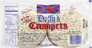 Duffys Crumpets, 12.5 ounce (Pack of 2)