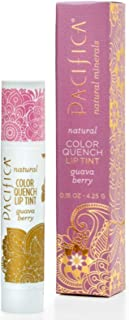 Pacifica, Natural Color Quench Lip Tint, Guava Berry, 0.15 oz (4.25 g)