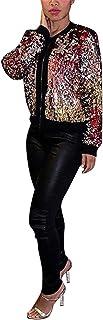 فستان معطف حريمي خريفي بأكمام طويلة مزين بالترتر فضفاض مفتوح من الأمام