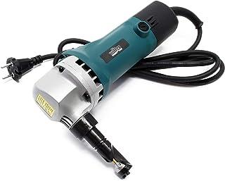Cizalla eléctrica para chapa y plástico 500W, profundidad