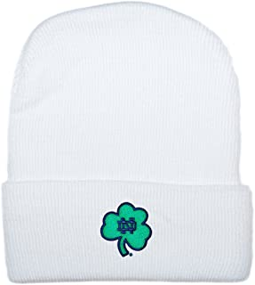 University of Notre Dame Fighting Irish Shamrock Newborn Baby Knit Cap