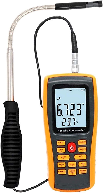 WSH Genneric Anemometer Digital Wind Air Finally popular brand Meter Flow Gauge Speed Tulsa Mall