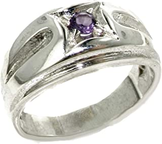 Best mens sterling silver amethyst ring Reviews