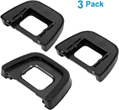 pangshi Camera Eyecup Eyepiece Replacement DK-23 Viewfinder Protector Compatible with Nikon D70S D7100 D300S D300 and More(DK-23 Replacement)