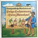 Helga Hahnemann und Heinz Rennhack. Erschröckliche Moritaten (VINYL/ LP/ Schallplatte)