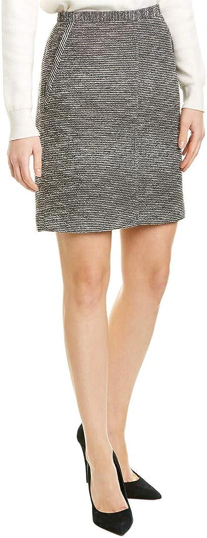 Anne Klein Womens Pencil Skirt, 16, Black