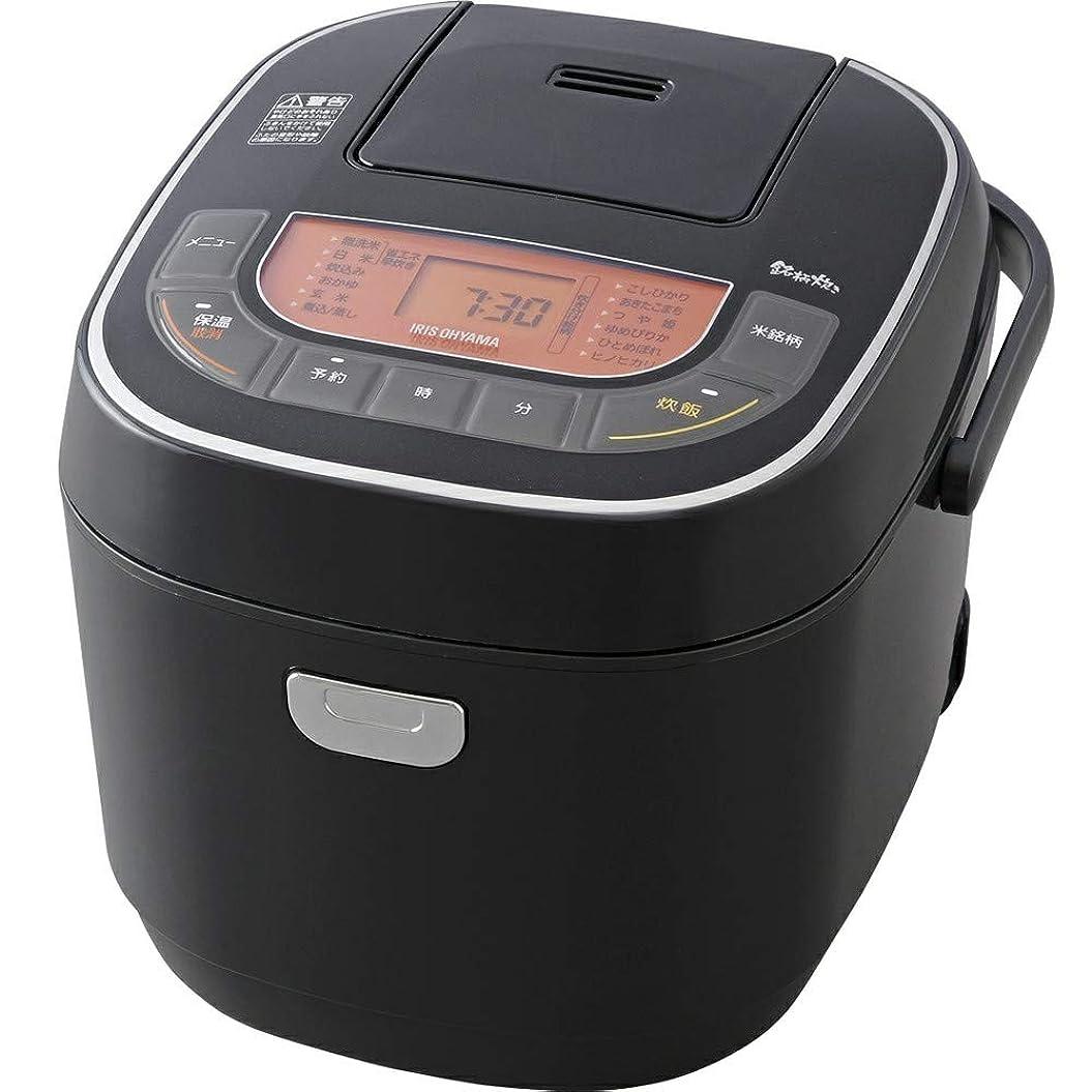 ビクター底不道徳アイリスオーヤマ 炊飯器 1升 10合 マイコン式 銘柄炊き分け機能付き RC-MC10-B