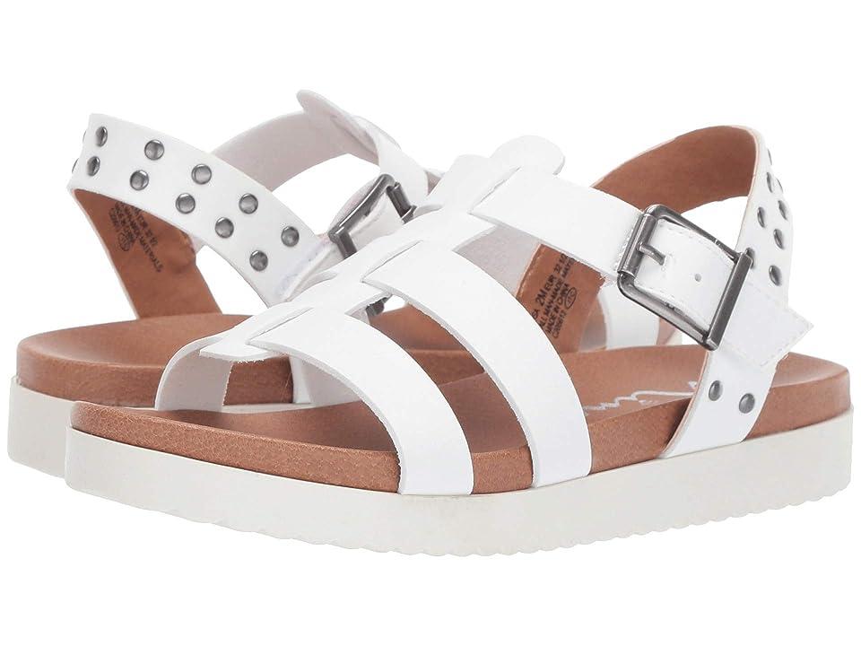 Nina Kids Aleah (Toddler/Little Kid/Big Kid) (White Smooth) Girls Shoes