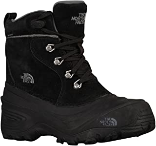 The North Face Youth Chilkat Lace II Boots - Kid's TNF Black/Zinc Grey 4